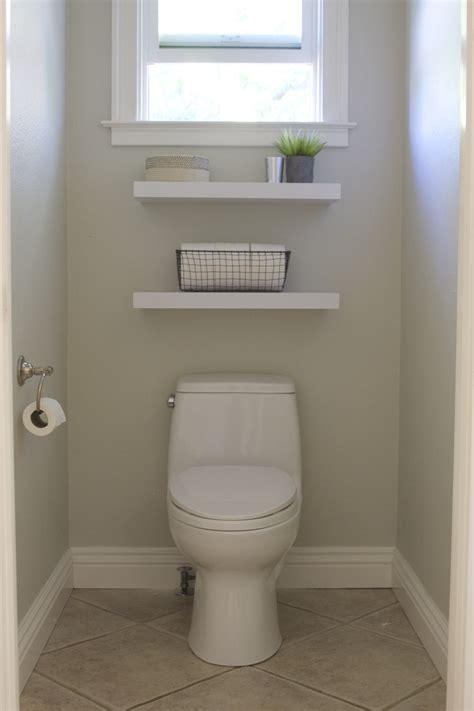 simple diy floating shelves   bathroom simply