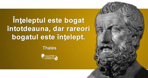 thales si鑒e social înțelepții și bogăția citat de thales