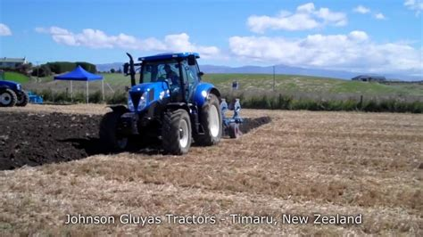 new t7 200 range command tractor with lemken europlough 5