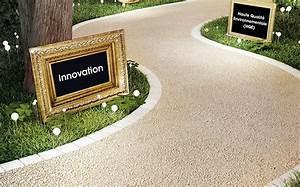 Prix Du M2 D Enrobé Pour Une Cour De Particulier : une all e de jardin ou une terrasse en gravillons fix s ~ Dailycaller-alerts.com Idées de Décoration