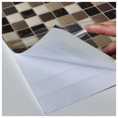 diy vinyl tile backsplashes adhesive wall covering 10
