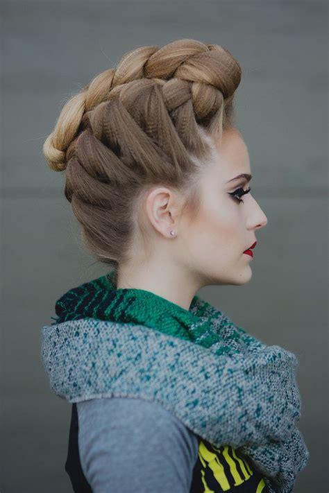 ideas  pompadour hairstyle  pinterest