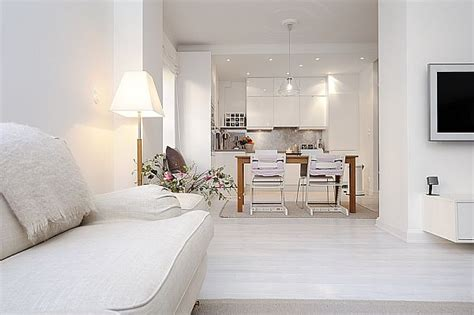 cuisine artek amazing apartment with total white look