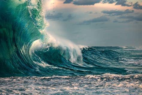 huge ocean wave   storm wall mural pixers