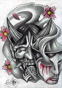 Demon Japonais Dessin : dessin masque jap slay 3 ~ Maxctalentgroup.com Avis de Voitures