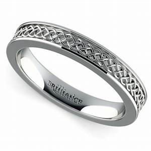celtic knot men39s wedding ring in platinum With platinum celtic wedding rings