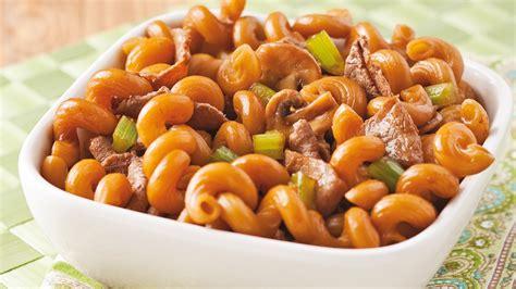 pates chinoises au boeuf nouilles chinoises au boeuf recettes cuisine et nutrition pratico pratique