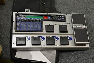 Digitech Gnx2 Multi Effect Pedal With Gig Bag Gray