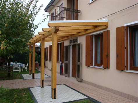 immagini di tettoie in legno tettoie con tende motorizzate venezia lino quaresimin