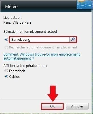 meteo sur le bureau windows 7 m 233 t 233 o sur bureau windows 7