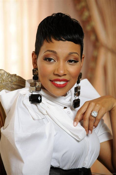 funky hairstyles  monica brown