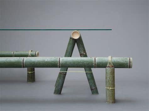 stefan diez reinterprets the traditional bamboo bench for