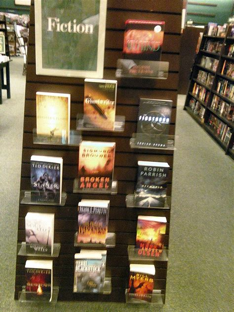 Barnes And Noble Rancho Cucamonga by Christian Fic Display In B N