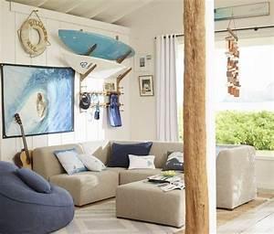 Deco chambre enfant avec planche de surf 50 inspirations for Tapis chambre enfant avec ubaldi canape angle