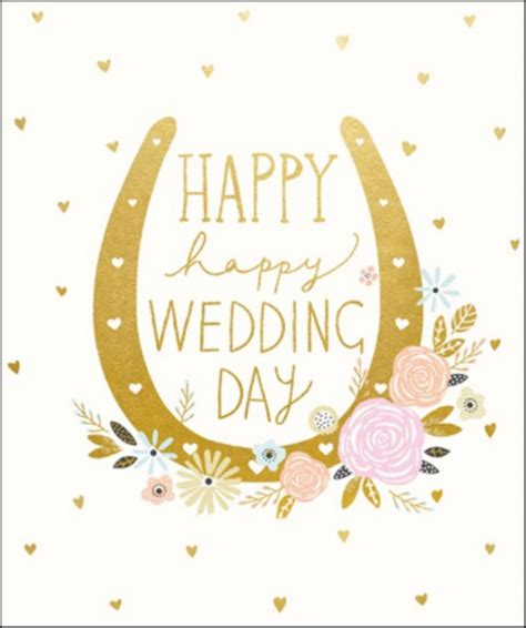 happy happy wedding day greeting card cards