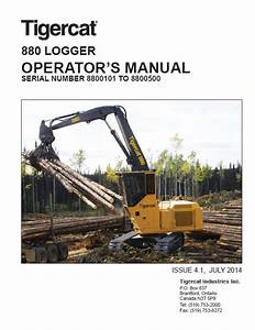 Download Tigercat Logger 880 Operator U0026 39 S Manual Pdf