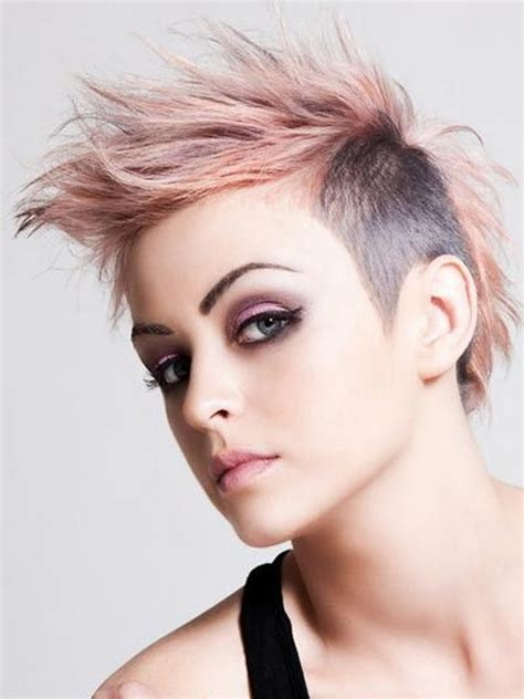 Short Punk Hairstyles For Girlsghantapic