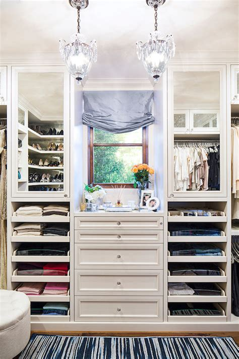 Closet La pull out drawers transitional closet la closet design
