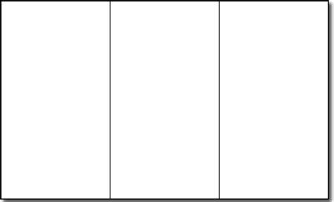 blank brochure templates  microsoft word cyberuse