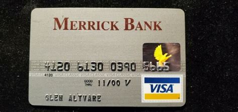 Feb 23, 2021 · i was offered 3 separate invitations from merrick. Merrick Bank Visa credit card exp 2000♡Free Shipping♡cc711   eBay