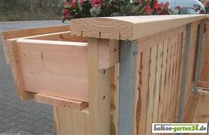 Balkongeländer Holz Einzelteile : montageklotz douglasie f r blumenkastenblende von balkon ~ A.2002-acura-tl-radio.info Haus und Dekorationen
