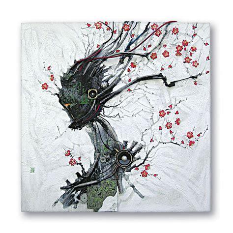 artist blends traditional japanese art  electronic