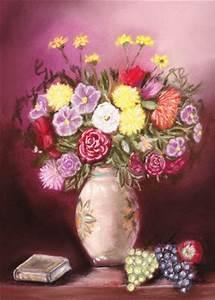 Peindre Au Pastel : tableau pastel sec bouquet de fleurs par l 39 artiste chineuse sur ~ Melissatoandfro.com Idées de Décoration
