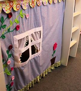 Nähen Für Das Kinderzimmer Kreative Ideen : c o r a m o vorhang f r s hochbett n hen ~ Yasmunasinghe.com Haus und Dekorationen