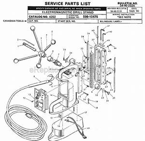 Milwaukee 4202 Parts List And Diagram
