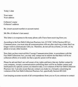 cease and desist letter template for debt collectors - 8 cease and desist samples sample templates