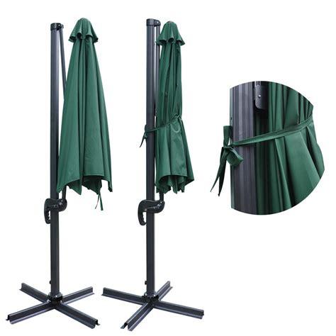deluxe patio hanging roma offset umbrella outdoor