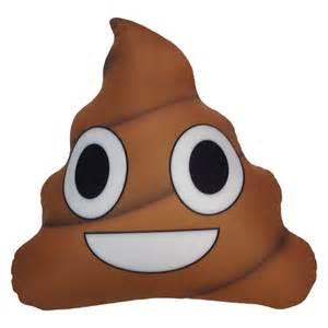 Emoji Poop Microbead Pillow