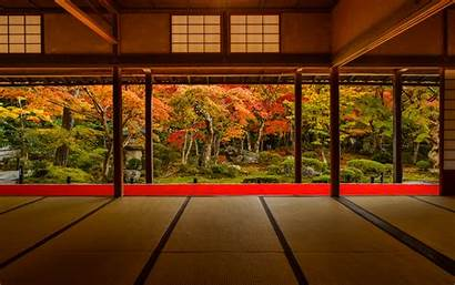 Japan Temple Garden Kyoto Viewing Wallpapers Background