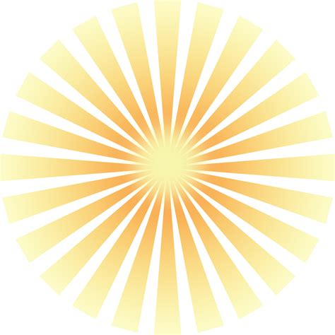 yellow sun rays png www imgkid the image kid has it