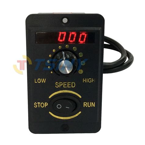 Ac Motor Controller by 40w Digital Display 220v Electrical Speed Controller Unit