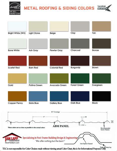 Pole Barn Color Selector by Pole Building Color Selector Tam Lapp Construction Llc
