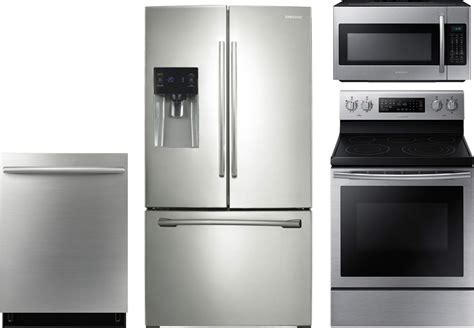 Samsung 4piece Kitchen Package With Ne59j7630ss Electric