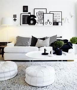 tapis de salon moderne en 25 exemples et quelques astuces With tapis moderne avec canapé kreabel