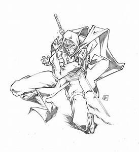 Ninja commission by marvelmania on DeviantArt