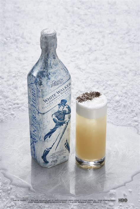 walker johnnie beyond wall thrones game bottle edition cocktail serve recipies unveil focus entertainment