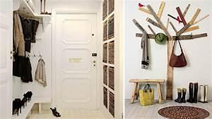 meuble de rangement hall d entree kirafes With porte d entrée pvc avec porte manteau salle de bain design