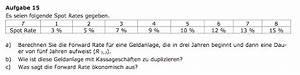 Zins Berechnen Formel : forward rate berechnen b rozubeh r ~ Themetempest.com Abrechnung