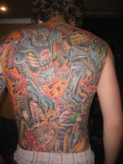 robot tattoos designs ideas  meaning tattoos