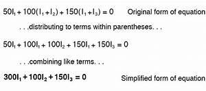 Writing Kvl Equations