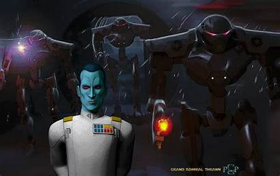 Thrawn Admiral Star Grand Wars Rebels Fanart