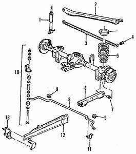 Rear Suspension For 2000 Pontiac Firebird