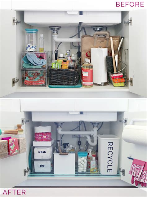 kitchen sink organization ideas 15 genius kitchen organizing ideas and inspiration 8696