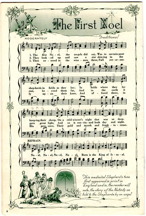 Christmas sheet music is surprisingly hard to find when you want it. Holidays, Homeschool, & Home: Christmas Sheet Music for Scrapbooking