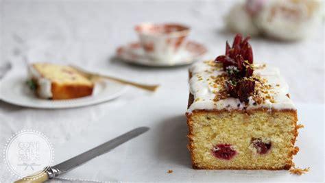 lemon raspberry hibiscus loaf cake recipe cove cake