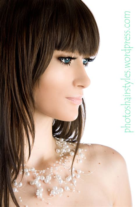long bang hairstyle trends women hairstyle trends